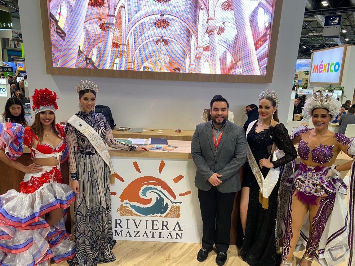 Riviera Mazatlán cautiva en la Fitur en Madrid