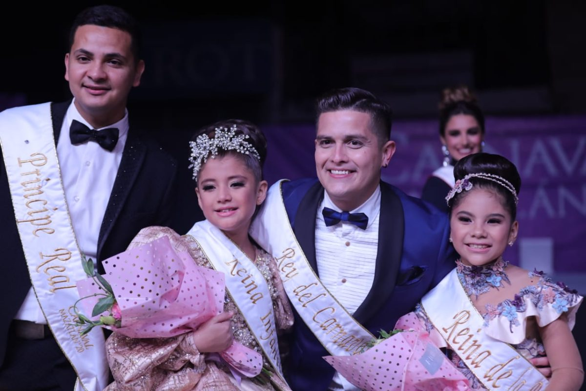 Carnaval de Mazatlán 2020 ya tiene ¡Reina Infantil y Rey!