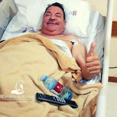 El mensaje que Julio Preciado envía a sus fans desde el hospital
