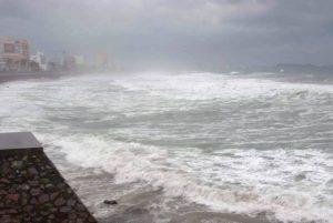 Fin e inicio de semana lluvioso se espera para Mazatlán