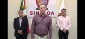 Anuncia Gobernador de Sinaloa suspensión de hoteles en el estado